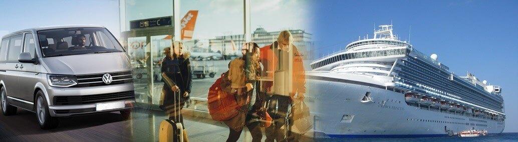 heathrow gatwick London Airports UK Seaports