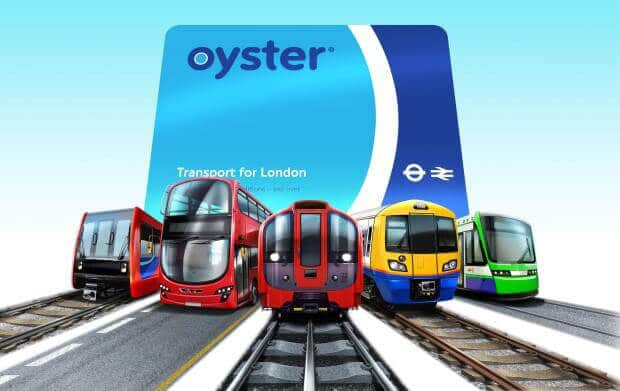 The Oyster Card and Pubic Bus Transport London UK - How to get to Gatwick Airport