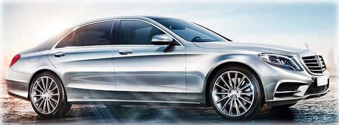 sclass car rental with chauffeur hire london
