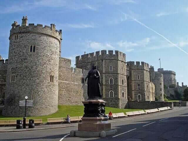 Windsor Castle Berkshire England UK