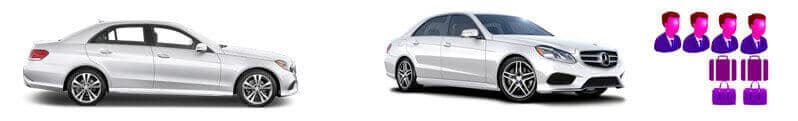 vehicle rental fleet Executive Saloon Mercedes E Class 5 Series