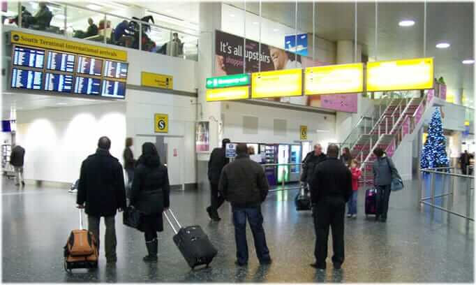 london gatwick south terminal international arrival hall