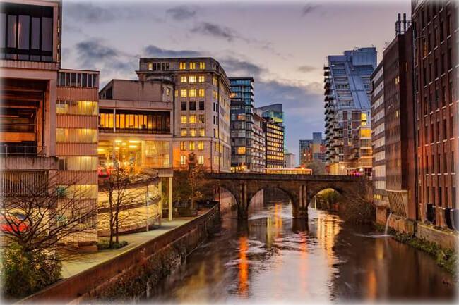Manchester city centre, UK - Manchester, England