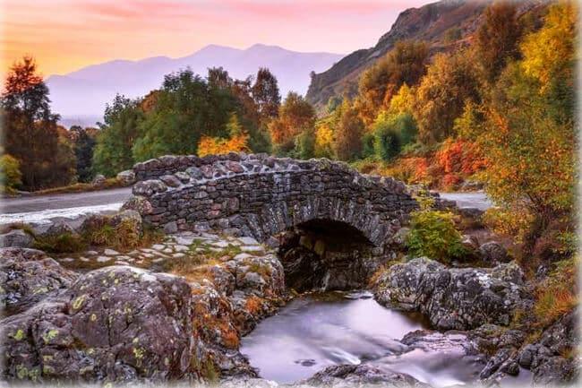 Ashness Bridge, Watendlath, Keswick, Lake District