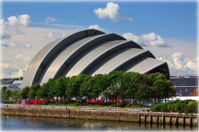 The Clyde Auditorium - Glasgow, Scotland